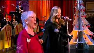 Mariah Carey & Patricia Carey - O Come All Ye Faithful (Live at ABC Christmas Special)