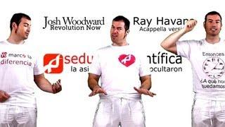 REVOLUTION NOW - JOSH WOODWARD - ACAPELLA VERSION (ONLY VOICE)