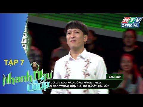 HTV NHANH NHƯ CHỚP | Đại Nhân, Nam Anh, Quang Đăng, Thái Trinh, Phương Linh |NNC #7 FULL |19/5/2018
