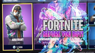 Fortnite Abstract Skin Gameplay