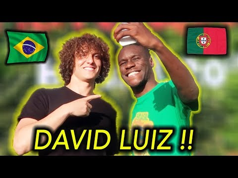 Conheci o DAVID LUIZ !
