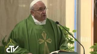 """""""È tanto brutto un cristiano ipocrita"""". Omelia di Papa Francesco del 31 ottobre 2014"""