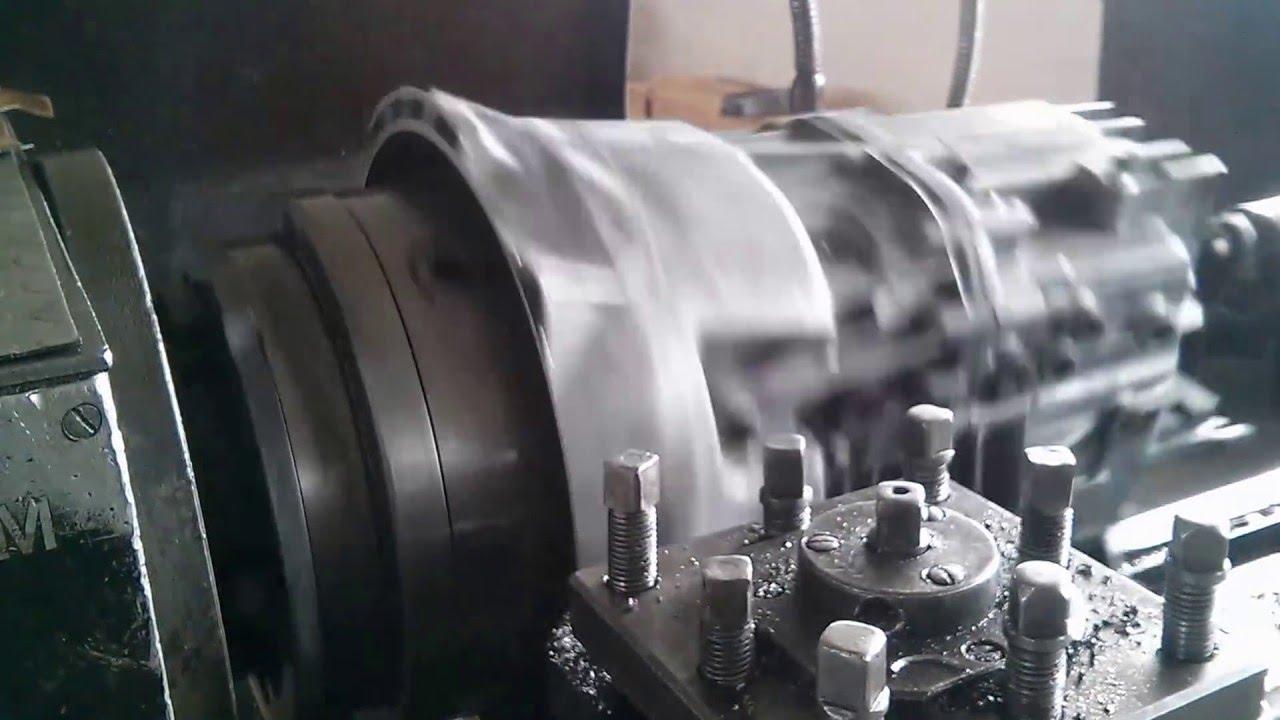 Cutting Bmw Zf 530d Tranny To Match 2jz Engine Youtube