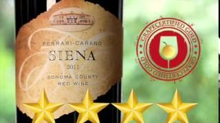 Best Wine: Ferrari Carano Siena Sangiovese Red Blend 2011 Review
