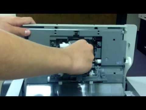 hp 4250 maintenance kit instructions
