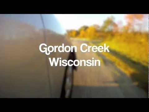 Driftless area Fly Fishing Wisconsin Gordon Creek Trout Fishing 2012