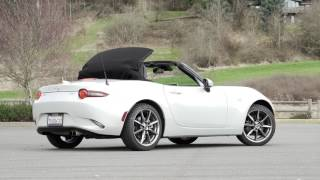 2017 Mazda MX-5 Miata Roadster Review - AutoNation