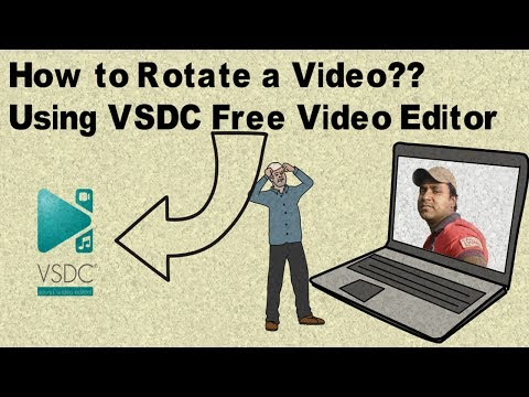 How to Rotate a Video in VSDC Free Video Editor