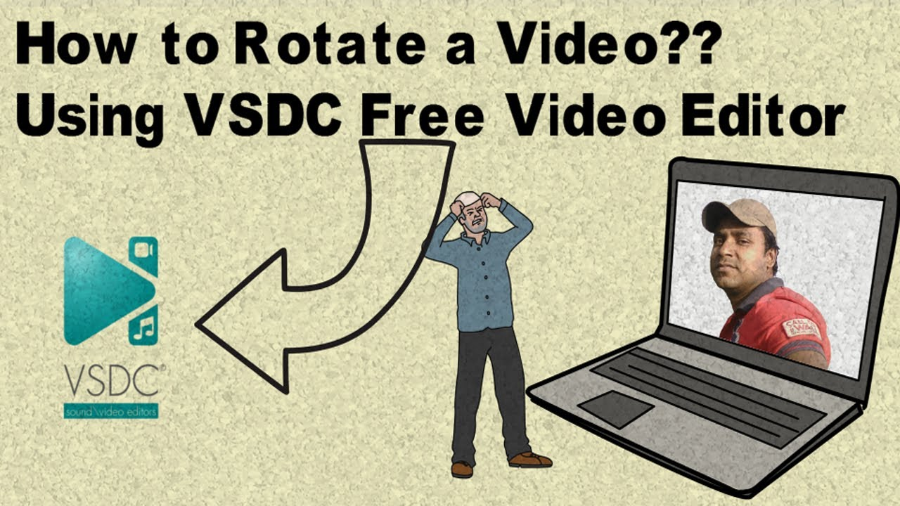 How to rotate a video in vsdc free video editor youtube how to rotate a video in vsdc free video editor ccuart Images