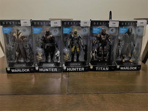 Destiny 2 Action Figures Unboxing (Full SET)