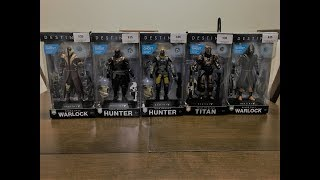 Destiny 2 Action Figures Unboxing (Full SET)