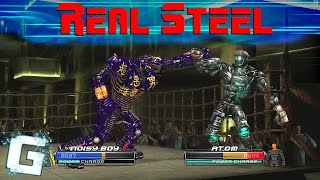 Real Steel - The Video Game [Xbox 360](Like What You See? Then Subscribe! Maybe? Please? It Would Be Amazing To Have You Join Us!, 2014-11-08T10:17:49.000Z)