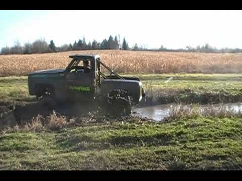 how to make a mud pit for trucks