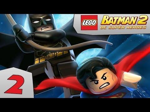 Zagrajmy w LEGO Batman 2: DC Super Heroes odc.2 Elektryczne placki