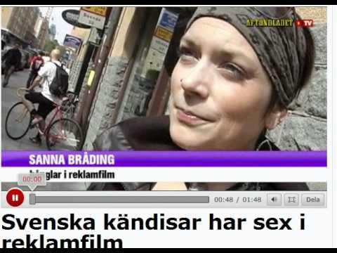 svenska kändisar i string