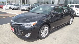 2013 TOYOTA AVALON REVIEW ENGINE START UP