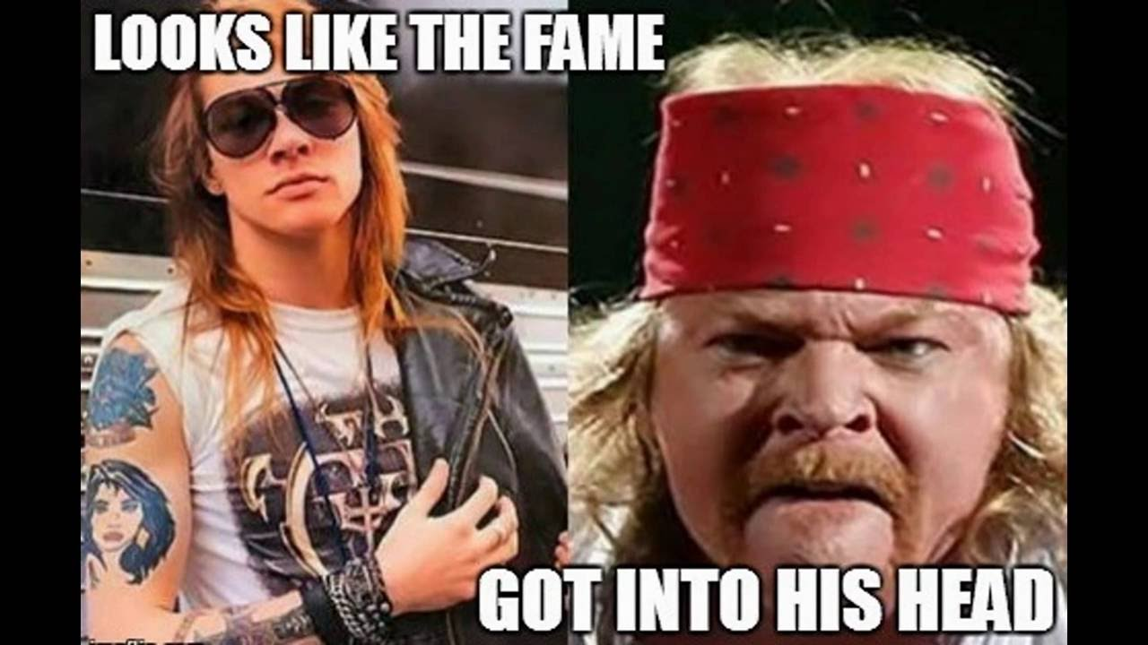 maxresdefault fat axl rose memes that made guns 'n roses leader angry! youtube