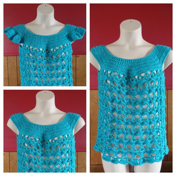 how to make crochet summer tops