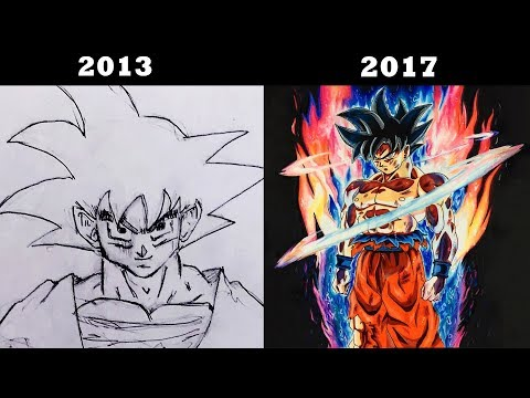 My Drawing Evolution/ Progress (2013-2017) | 30K Subs Special