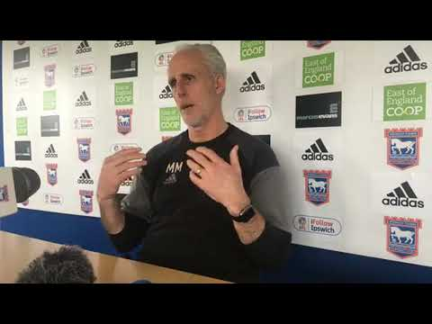 Mick McCarthy's press conference Bristol City v Ipswich Town