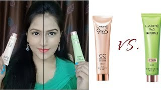 """""""New Launch"""" Lakme 9 to 5 Naturale CC Cream reviews and comparison"""