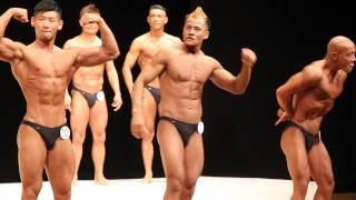 Rana Bijay on 5th position . Tokyo open bodybuilding championship.2014.
