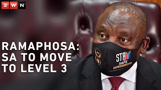 President Cyril Ramaphosa addressed the nation on 24 May 2020 and announced that the country will move from level 4 alert to level 3 alert of lockdown.    #CoronavirusSA #Lockdown #COVID19news
