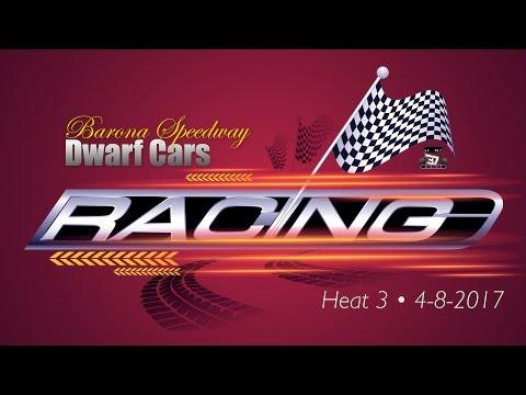 Barona Speedway Dwarf Car • Heat 3 • 4-8-2017