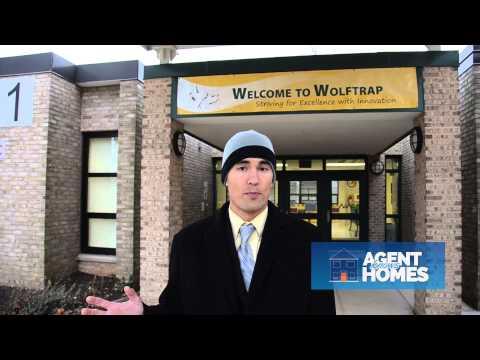 Wolftrap Elementary School in Vienna Virginia