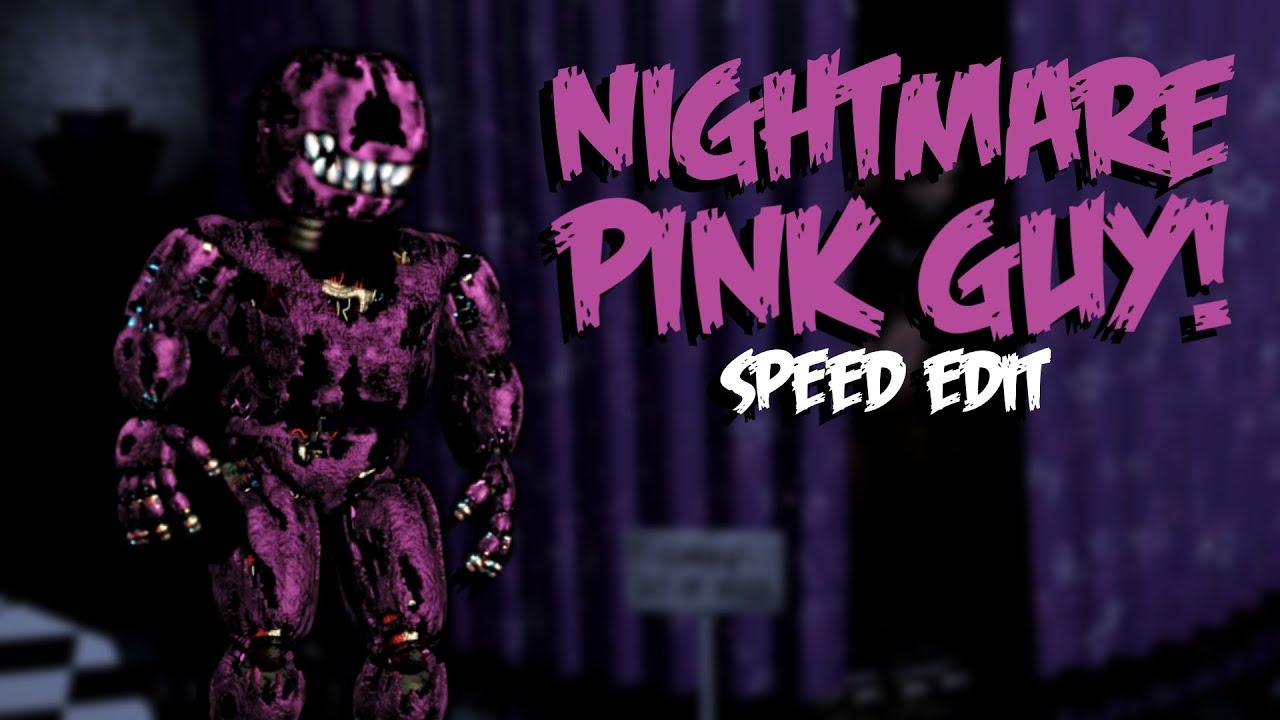 Nightmare Pink Guy Speed Edit Youtube