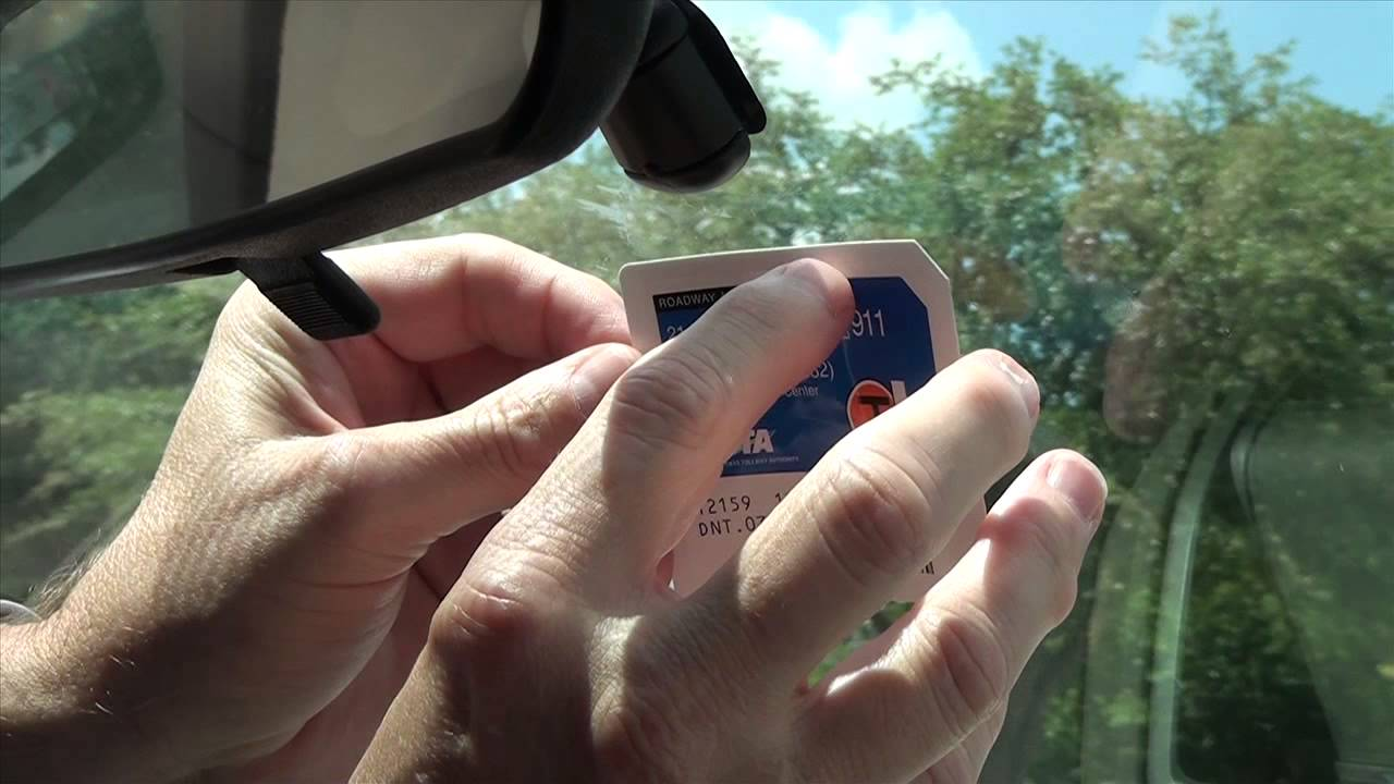 How to install a TollTag - NTTA