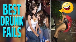 Funny Drunk People Fails Compilation (#1) Drunk Girl Fails 2019