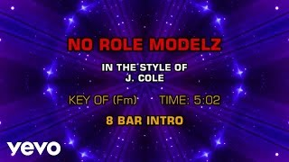 J. Cole - No Role Modelz (Karaoke)