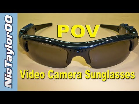 Video Camera Sunglasses - REVIEW