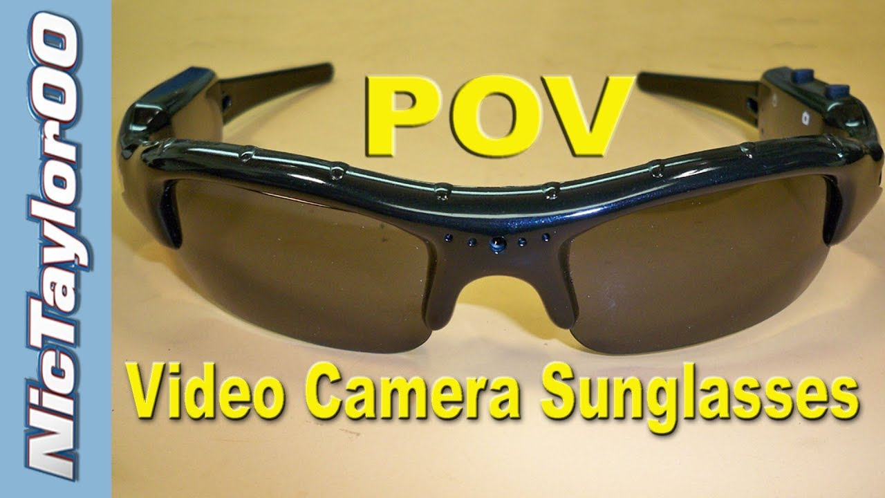 d147e66fff5134 Video Camera Sunglasses - REVIEW - YouTube