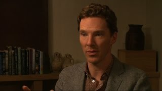 Benedict Cumberbatch on 'Imitation Game,' playing genius