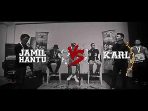 Lawalah X Underboss - Semi Final - Rap Battle - Jamil Hantu VS Karl