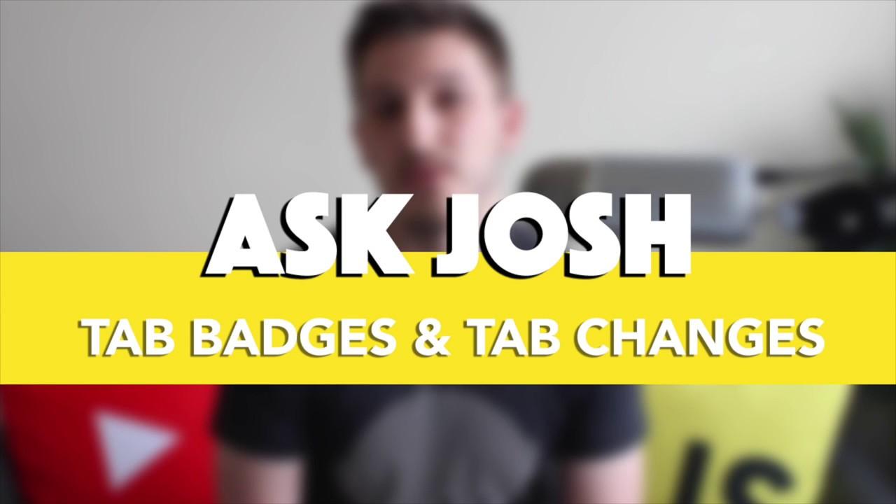 ASK JOSH - Using Tab Badges in Ionic