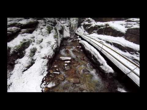 Flume Gorge, New Hampshire (with unexpected ending)