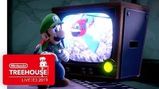 Luigi's Mansion 3 Gameplay Pt. 1 - Nintendo Treehouse: Live   E3 2019