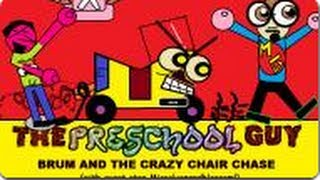 Brum and the Crazy Chair Chase (with DaWillstanator aka Missoliverandblossom) - THE PRESCHOOL GUY