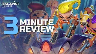 Exit the Gungeon | Review in 3 Minutes (Video Game Video Review)