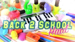 The Frog Vlog: 2016 Back 2 School Haul