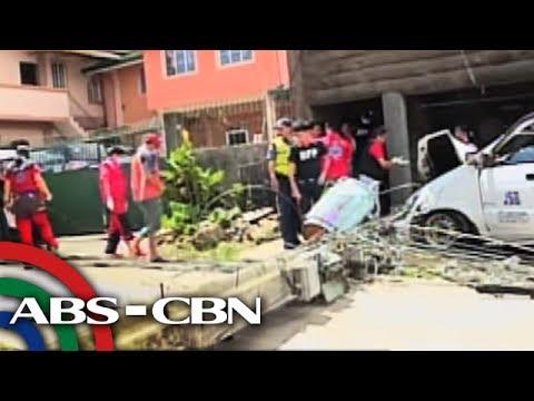 Bandila: Lalaki patay matapos madaganan ng poste sa Baguio