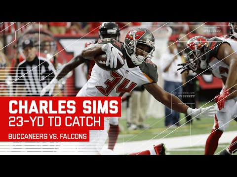 Charles Sims Breaks a Half Dozen Tackles for the Powerful TD! | Buccaneers vs. Falcons | NFL