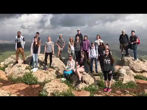 Timberlake Christian Schools senior trip israel 2017