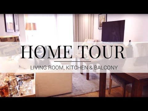 HOME TOUR | Living Room, Kitchen & Balcony | JASMINA BHARWANI