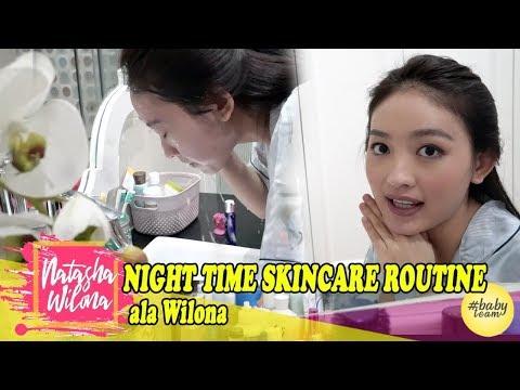 Night Time Skincare Routine Ala Wilona