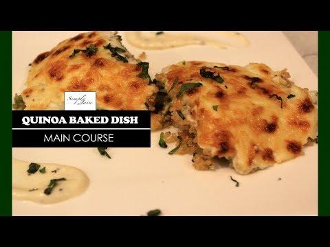 Quinoa Baked Dish | How To Make Baked Dish | Main course | Simply Jain