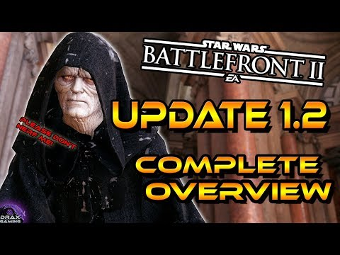 PATCH 1.2 OVERVIEW |  Hero buffs and Nerfs + Jetpack Cargo -Star Wars Battlefront 2 thumbnail
